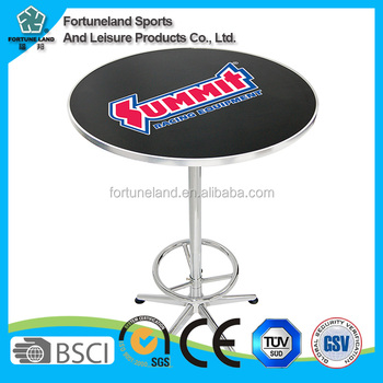 high bar cocktail table cloth for wedding and chairs for sale