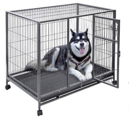 "wholesale price 51""x35""x22"" Large Cat Pets Wire Cage 2 Door"