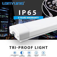 LED Parking Garage & Canopy Light subway station 50000h Working Lifetime led explosion proof light