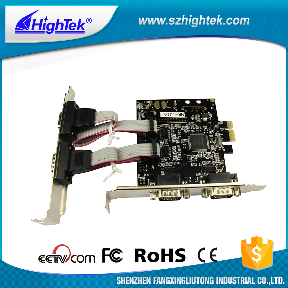 HighTek 256byte 4-port RS232 Card