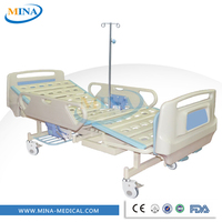 MINA-MB2007 comfortable medical metal bed ,adjustable hospital sickbed