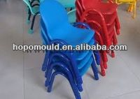 2013 China Mold factory new design high quality plastic chair mould durable plastic school classroom chairs