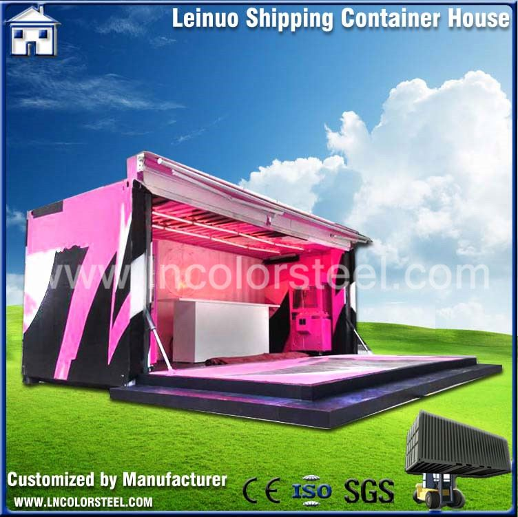 Hight Quality portable container house villa resort with best price