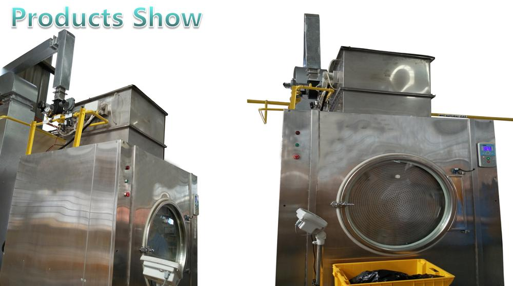 Cheap automatic industrial infrared commercial gas clothing drying machine