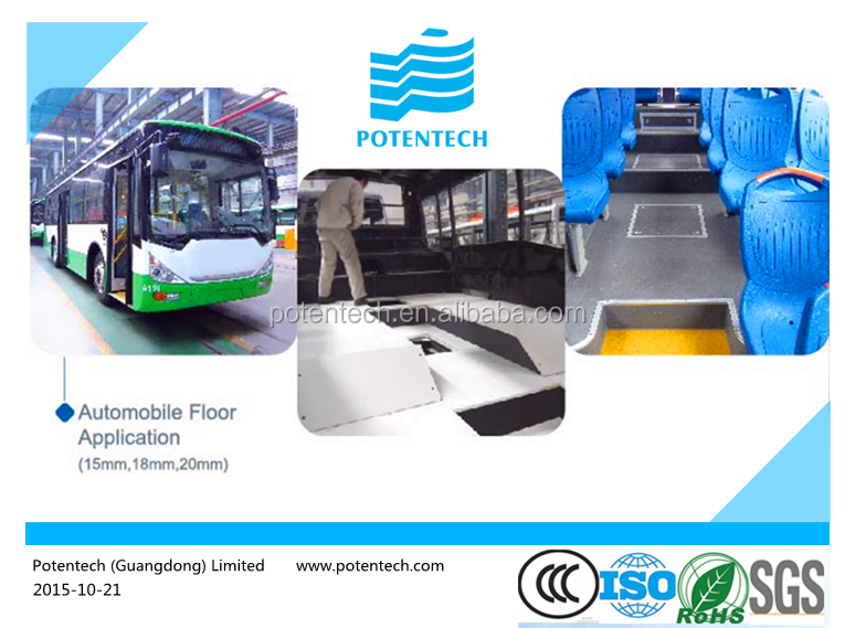 commercial bus used pvc flooring