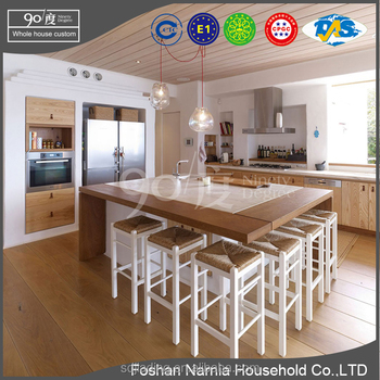 fashionable kitchen cabinet design wooden kitchen cabinet supplier