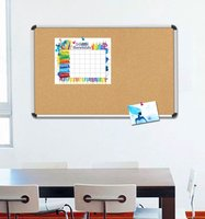 Hot Sale ! aluminum material school bulletin board / cork board