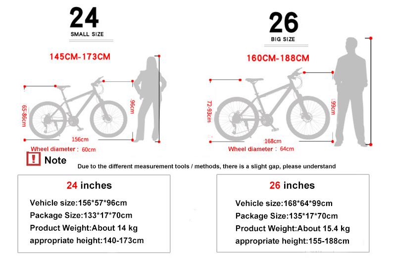 Factory Direct OEM New 24/26 Inch Aluminum Alloy Mountain Bike Mountain Bicycle