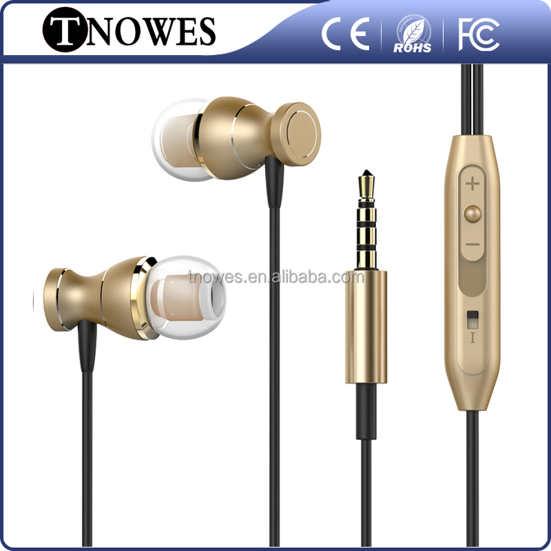 High Quality C-01 Metal Headphone With Mic