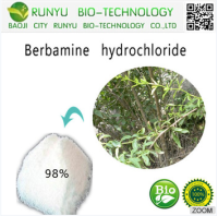 Herbal extract berbamine hydrochloride:crude drug for berbamine hydrochloride tablets