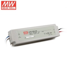 Mean well 100w 36v Constant Voltage Outdoor Waterproof led transformer/ Power Supply LPV-100-36
