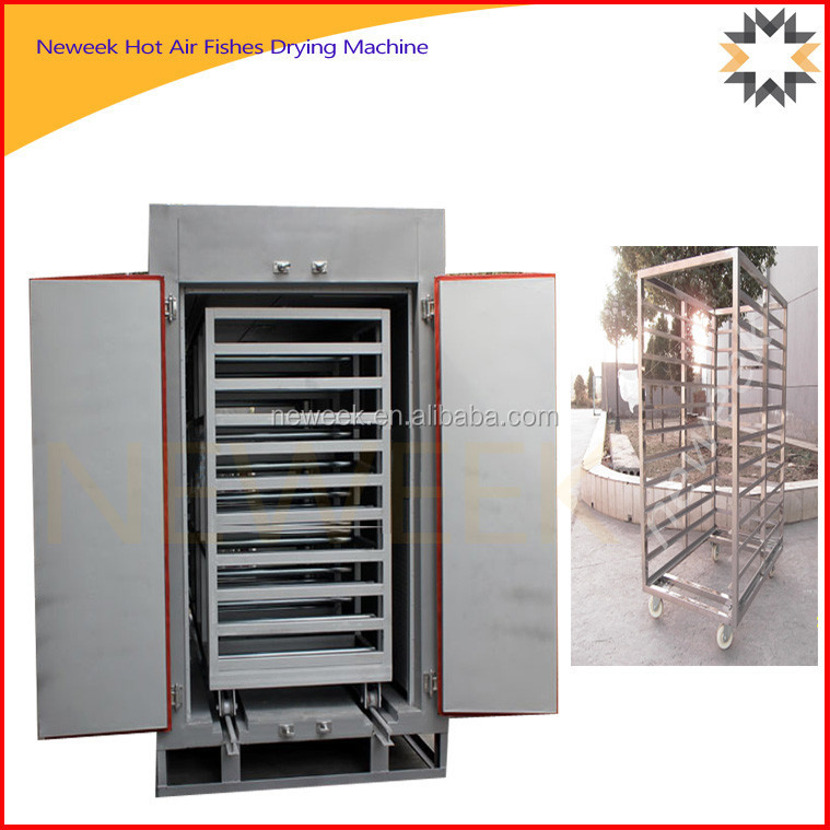 Neweek single gate temperature control industrial food fish drying machine
