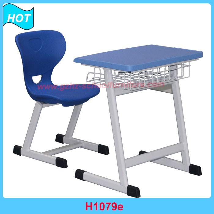 school plastic table and chair metal frame for kids classroom furniture