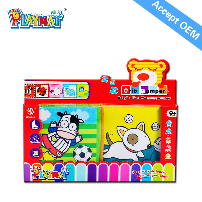 Crib Toys Learning : New product funny crib toys hindi fabric cloth books