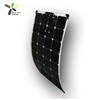 semi flexible solar panel for caravan, boat and yacht 50W , 60W, 100W, 120W, 130W, 150W