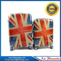 Eminent and fashion abs and pc airport luggage travel bags, american brand luggage