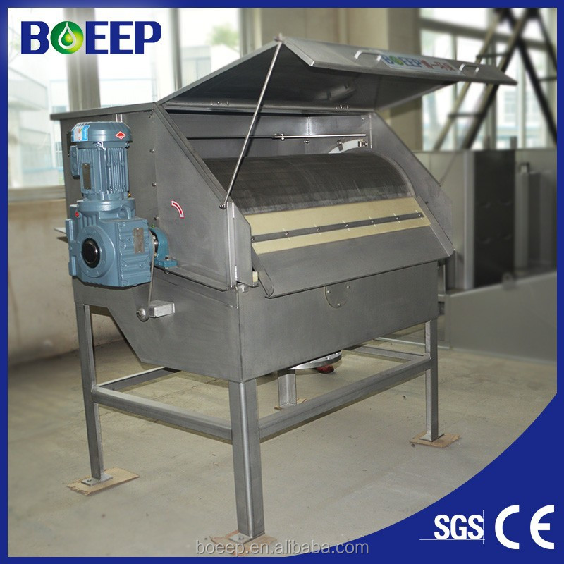 SS304 Rotary drum filter for pulp & paper indusry