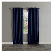 Europe Style Grommets Blackout Fabric Curtain