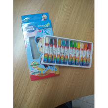 12/16/18/24 Color 70mm*10mm Washable Oil Pastel For Kids, Artist Supplier Specialist Assorted Colors Crayon Oil Pastel