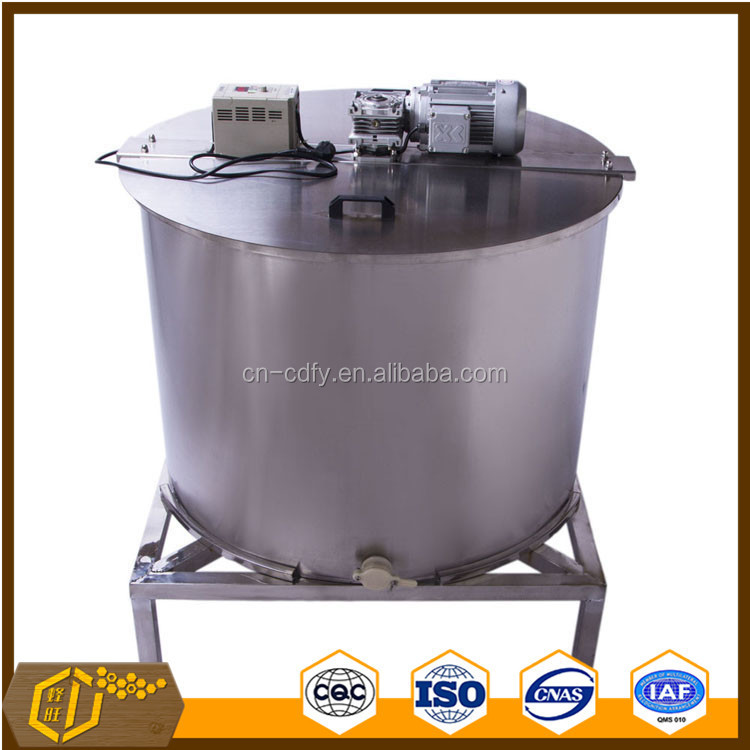 24 frames stainless steel honey extractor by electric