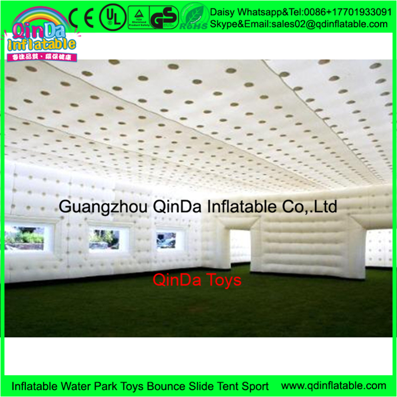 Giant large Led party event inflatable dome tent,inflatable bubble tent from china