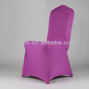 best chair fabrics chair cover,Lycra/Spandex chair cover with sash for wedding and banquet