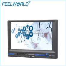 7 inch Full HD Car headrest LED touch monitor with VGA AV Audio HDMI input