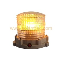 1W High Brightness Solar LED Beacon Warning Light