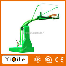 Manual hydraulic basketball stand removable basketball stands