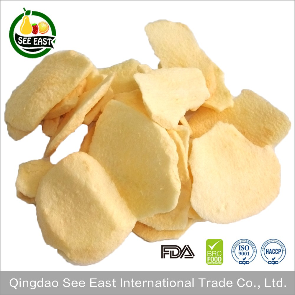 Wholesale alibaba dry fruit snack food freeze dried fuji apple fruit