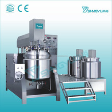 China supplier high performance liquid foundation making machine/vacuum emulsifier machine/body lotion production line price