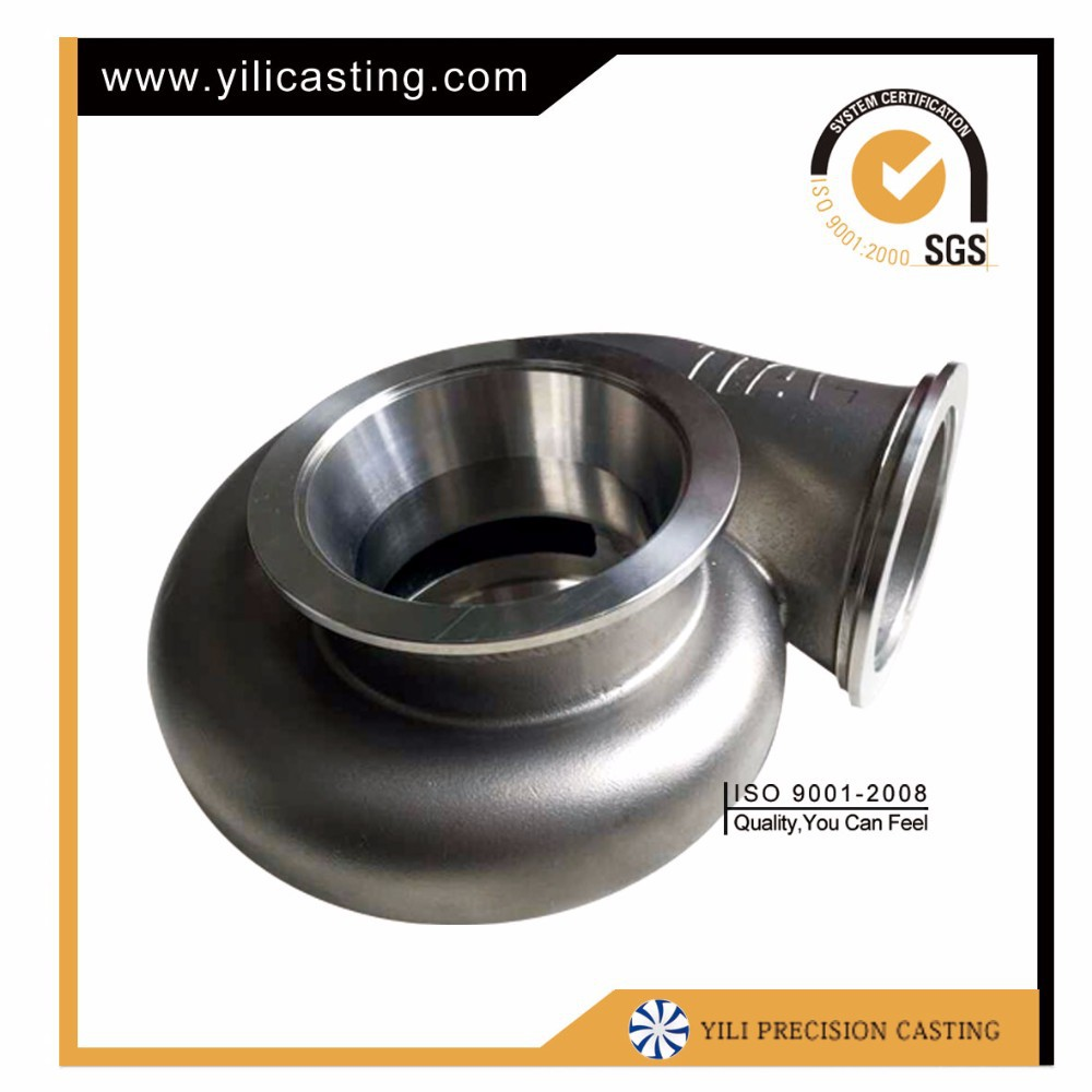 gravity die casting superalloy compossor housing