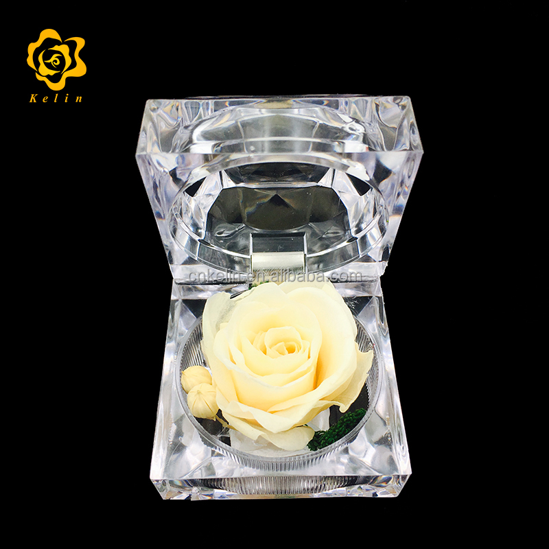 Kelin Offer Immortal Dried Rose <strong>Flower</strong> for Birthday Party and Wedding Gifts