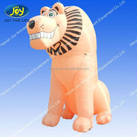 custom inflatable cartoon/inflatable figure/giant commerical inflatable lion