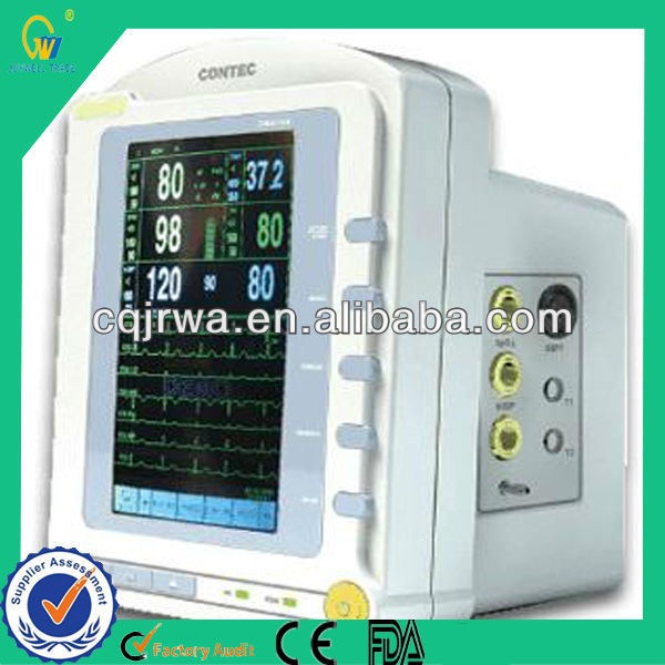 Christmas Cheapest Portable Handheld Lightweight Contect Multi Parameter Patient Monitor with CE, FDA Approved