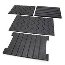 railway grooved resilient rubber pad