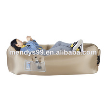 Cheap outdoor air bed inflatable floating sofa