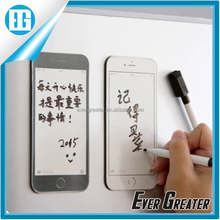 wholesale custom phone shape fridge magnet notepad/fridge magnet note pad/fridge magnet writing board