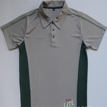 personalize split 100 polyester polo shirts