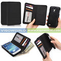 Black color Icon wallet phone case fit for samsung galaxy note 3