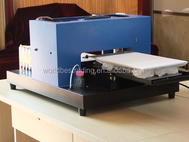 A4 Size Multifunction Flatbed Printer T-Shirt Printer,For T-shirt ,Phone Case ,USB Flash Printing Etc.