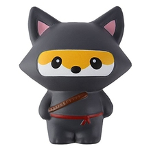 Child Party Supplies gifts slow rising squishies Kawaii scented soft jumbo squishy Ninja Fox ninja panda animal toy
