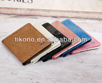 Rotary stand protective leather cases for ipad mini