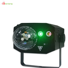 Upgraded version Multiple Patterns LED Ripple Wave magic ball Projector Red Green Laser Light