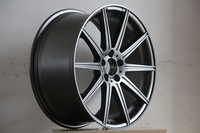 19 inch replica alloy wheels for mercedes cars with gunmetal finish