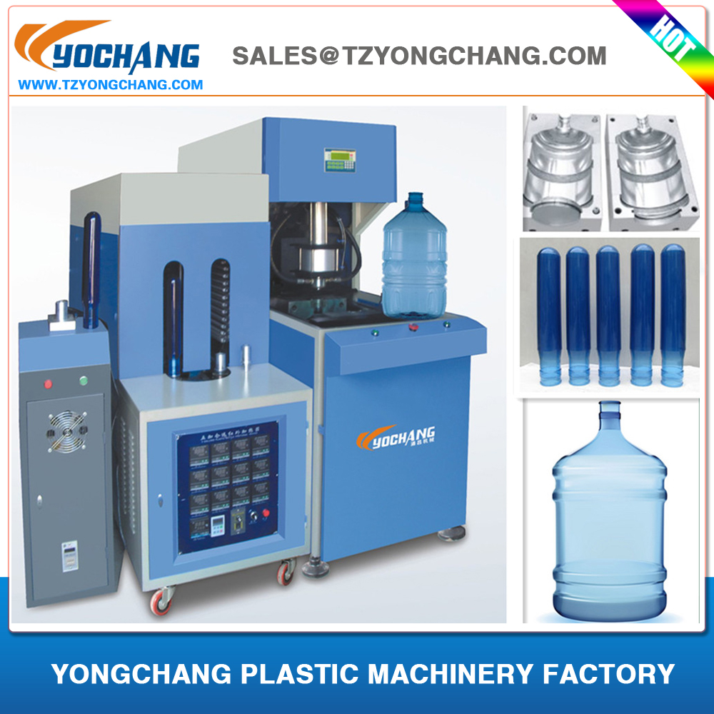 supply cheaper price 5 gallon semi automatic PET blowing machine price 5L 10L 15L 20L 25L pet plastic bottles containers