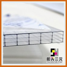 Multiwall polycarbonate hollow sunroom solar panel