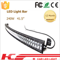 Top quality top brightness 4x4 Led Bar 240W Offroad Light