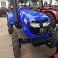 Cheap price new model 25hp 4x4 tractors with front fork lift