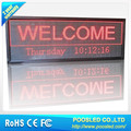 indoor display led scrolling message sign